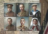 Jersey - Første verdenskrig - Postfrisk miniark