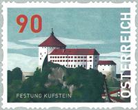 Autriche - Forteresse Kufstein - Timbre neuf