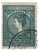 Suriname 1907 - NVPH 57 - stemplet