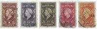 Surinam 1945 - NVPH 229/43 - oblitéré