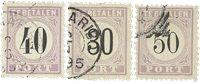 Suriname 1886-1888 - NVPH P6/8 - stemplet