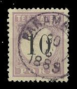 Suriname 1886-1888 - NVPH P3 - stemplet