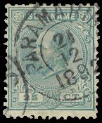 Surinam 1873-1889 - NVPH 10 - oblitéré