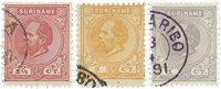 Surinam 1873-1889 - NVPH 1/3 - oblitéré