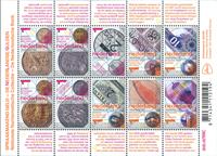 Nederland - Guldens - Postfris velletje van 10