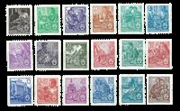 République Démocratique Allemande 1953 - Michel 405-422 - Neuf