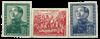 German Democratic Republic 1951 - Michel 286-288 -  Mint