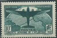 France - 1936 10 Fr bleu/vert