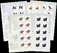 Jersey - Oiseaux, Amitiés avec la Chine - Série neuve de feuillets