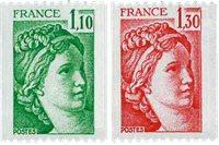 France - YT 2062a+2063a neufs sans ch.
