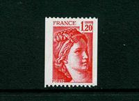 Frankrig - YT 1981Ba postfrisk