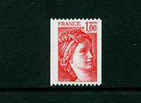 Frankrig - YT 1981a postfrisk