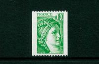 Frankrig - YT 1980a postfrisk