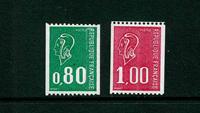 France - YT 1894a+1895a neuf sans ch.
