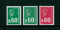 Frankrig - YT 1814a, 1815a, 1816a postfrisk