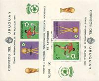 Uruguay - Fodboldsæt 1981