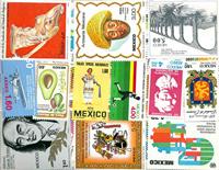 Mexico - Postfrisse dubbelenpartij