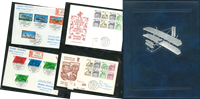 Berlin - Collection of letters/FDCs in 7 new albums