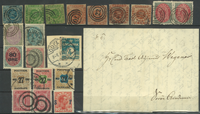Danemark - Lot - 1828-1915