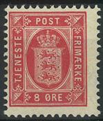 Danmark - Tjeneste - 1898