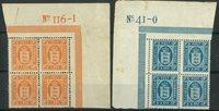 Danemark - Service - 1914-16