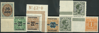 Danmark - 1912-22