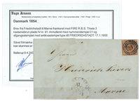 Danemark - 1854