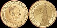Danmark - Christiansborg Slotstårn - 20 kr.