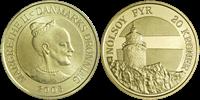DK Nolsoy Fyr, Færøerne 20 kr