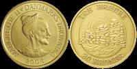 Danmark - Tre brødre - 20 kr.