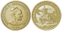 Danmark - Dannebrog - 20 kr.
