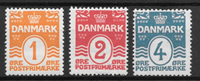 Dinamarca - AFA 77 + 78 and 80 - Nuevo