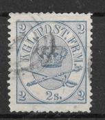 Dinamarca 1864 - AFA 11 - Usado