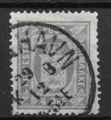 Dinamarca 1875 - AFA Tj 5a - Usado