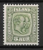 Islanti 1907 - AFA 51 - Käyttämätön
