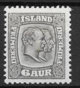 Islanti 1907 - AFA 52 - Käyttämätön
