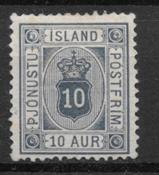 Islanti 1876 - AFA Tj 5a - Käyttämätön