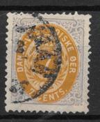 Antille Danesi 1873 - AFA 7 - Nuovi
