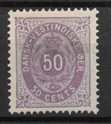 Antille Danesi 1879 - AFA 13 - Nuovi