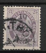 Antille Danesi 1895 - AFA 15 - Timbrato