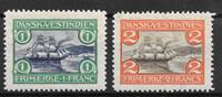 Antille Danesi 1905 - AFA 30-31 - Nuovi