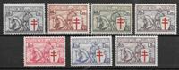 Bélgica 1934 - AFA 385-391 - Nuevo con charnela