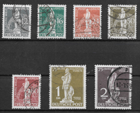Berlino 1949 - AFA 35-41 - Timbrato