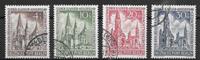 Berlino 1953 - AFA 108-111 - Timbrato