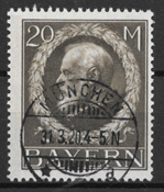 Baviera 1914 - AFA 110 - Timbrato