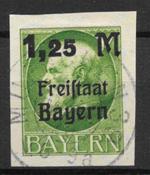 Baviera 1920 - AFA 175B - Timbrato