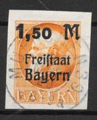 Baviera 1920 - AFA 176B - Timbrato