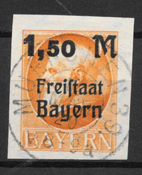 Baviera 1920 - AFA 176B - Usado