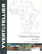 Yvert & Tellier - Africa 2018 - Vol. II (G-Z) - Stamp catalogue