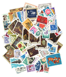 Roumanie - 160 timbres diff.